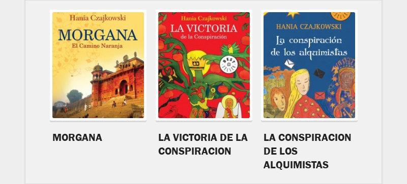 MORGANALA VICTORIA DE LA CONSPIRACIONLA CONSPIRACION DE LOS ALQUIMISTAS