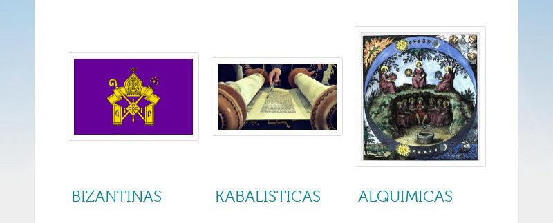 BIZANTINAS KABALISTICAS ALQUIMICAS